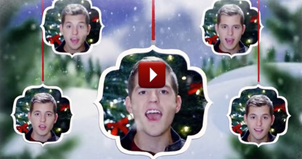 Listen to This Fantastic A Capella Christmas Medley - It'll Make You Smile