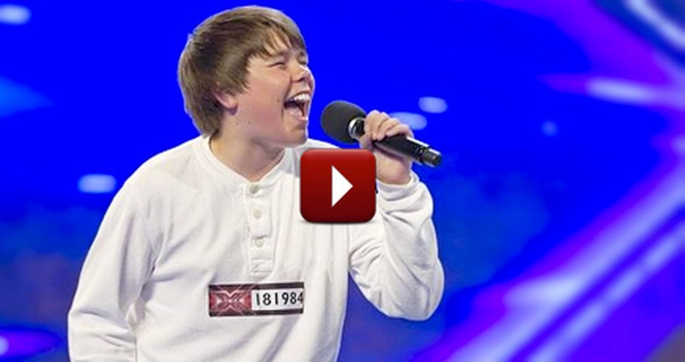 Shy 16 Year-Old Boy Blows the Judges Away With a Jackson 5 Tribute