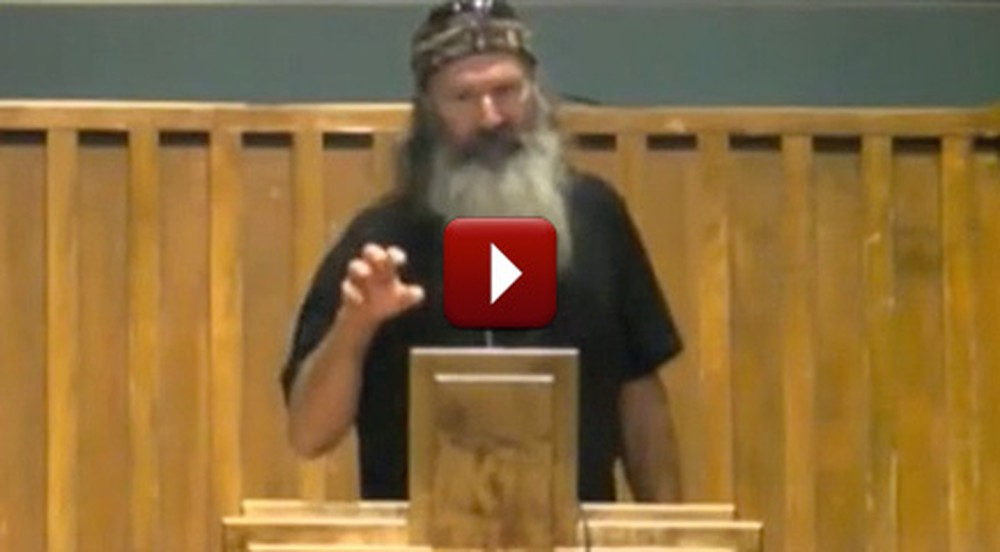 Listen to What the Duck Dynasty Men Preach in Their Own Church - You'll Love It