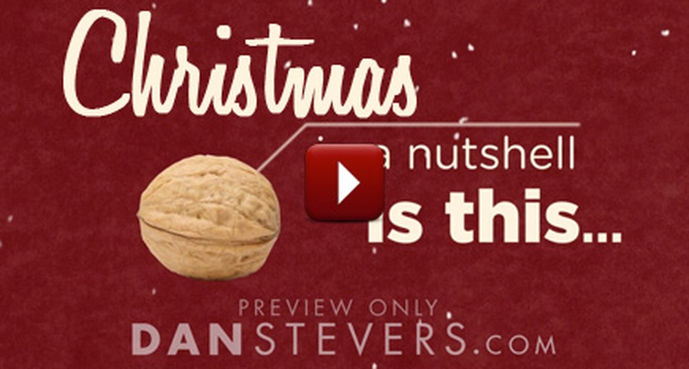 This is Christmas... in a Nutshell. :) Watch and Share the True Meaning of Christmas