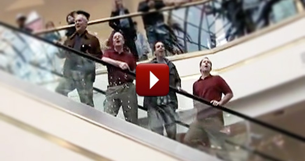 Talented Group of Christians Help Put Christ Back in Christmas by Singing Hymns