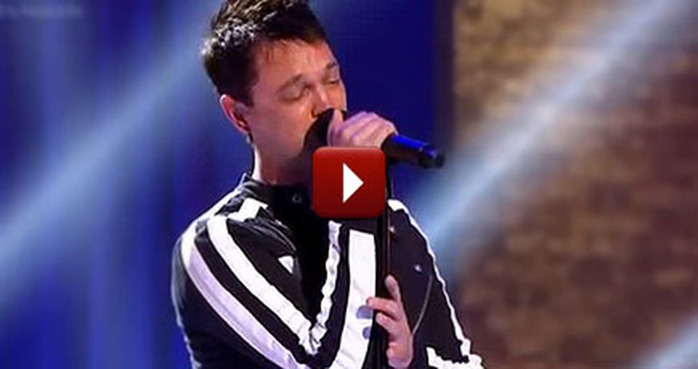 Loving Father Sings Amazing Grace So Well, You'll Get Chills