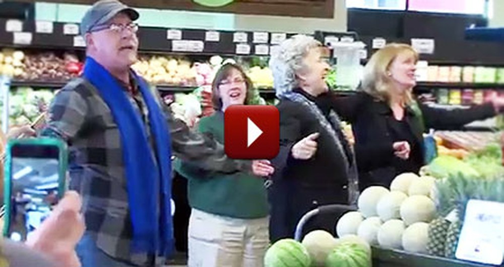The Act of Kindness in This Supermarket Will Bring a Tear to Your Eye