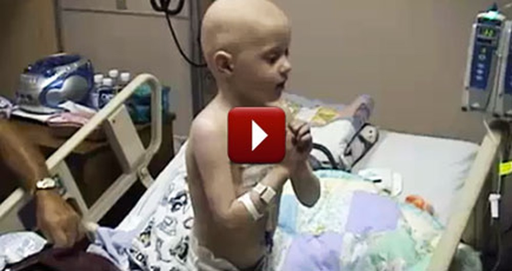 Boy with Cancer Sings Jesus Loves the Little Children