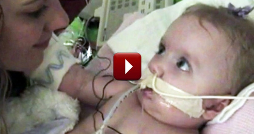 Dying Baby Gets a Heartbreaking Miracle Gift at the Last Minute
