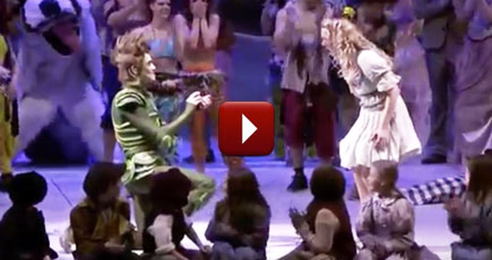 Peter Pan Stops the Entire Musical to Propose to His Love