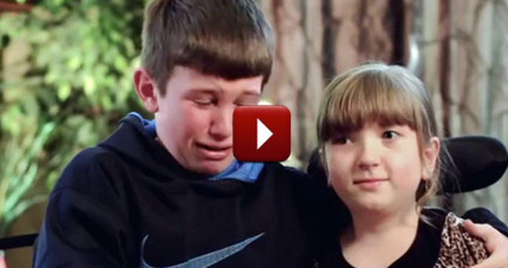 A Brother's Devotion to His Special Needs Sister Will Break You Down Into Tears