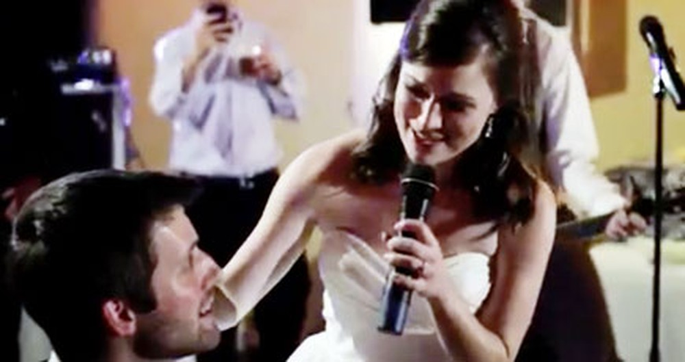This Bride Shocked Everyone, Even Her Husband, With This Heartwarming Surprise