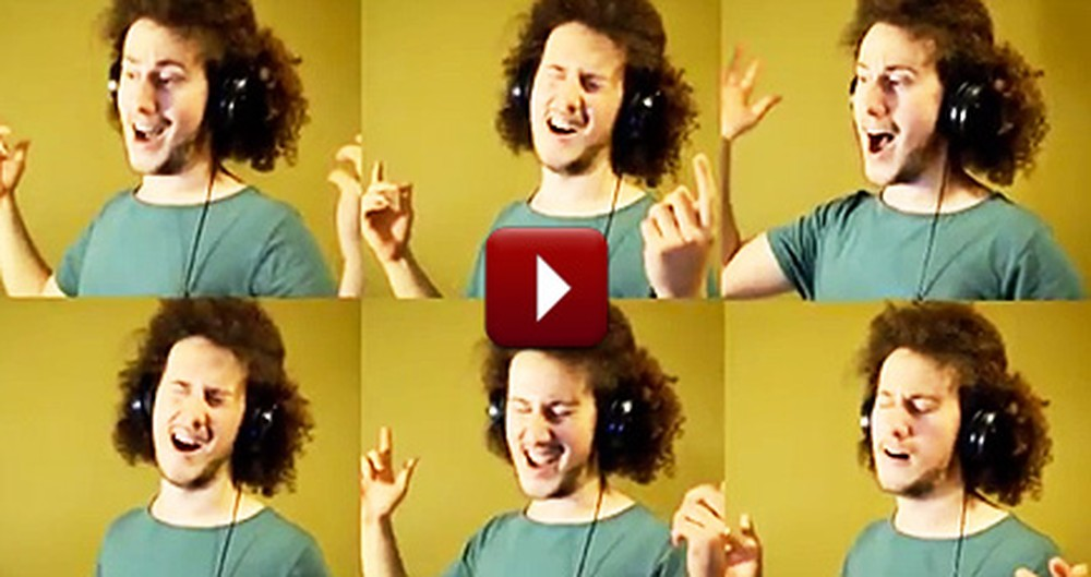 Amateur Musician's A Cappella Hymn Medley Will Drop Your Jaw - WOW