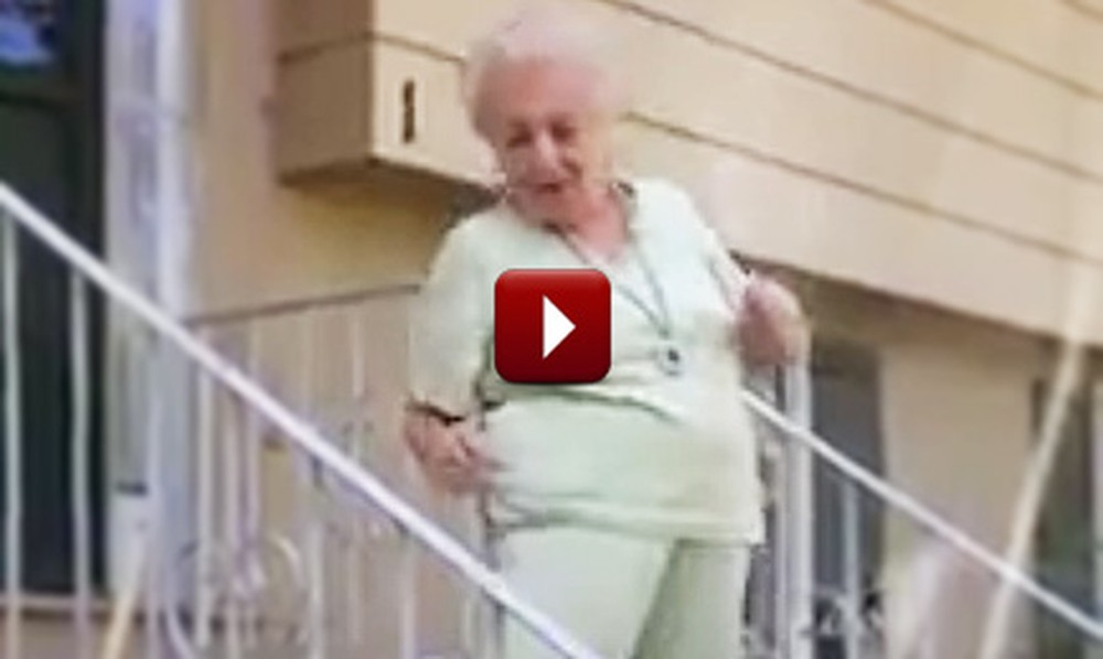 She May Be 90, But This Dancing Grandma Has Still Got Some Moves