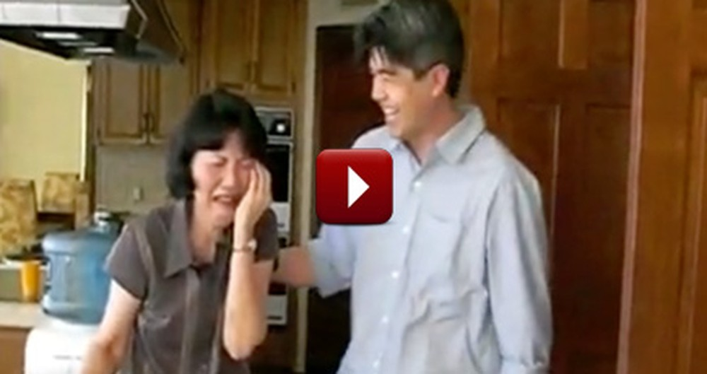 One Mom Can't Handle All of Her 60th Birthday Surprises