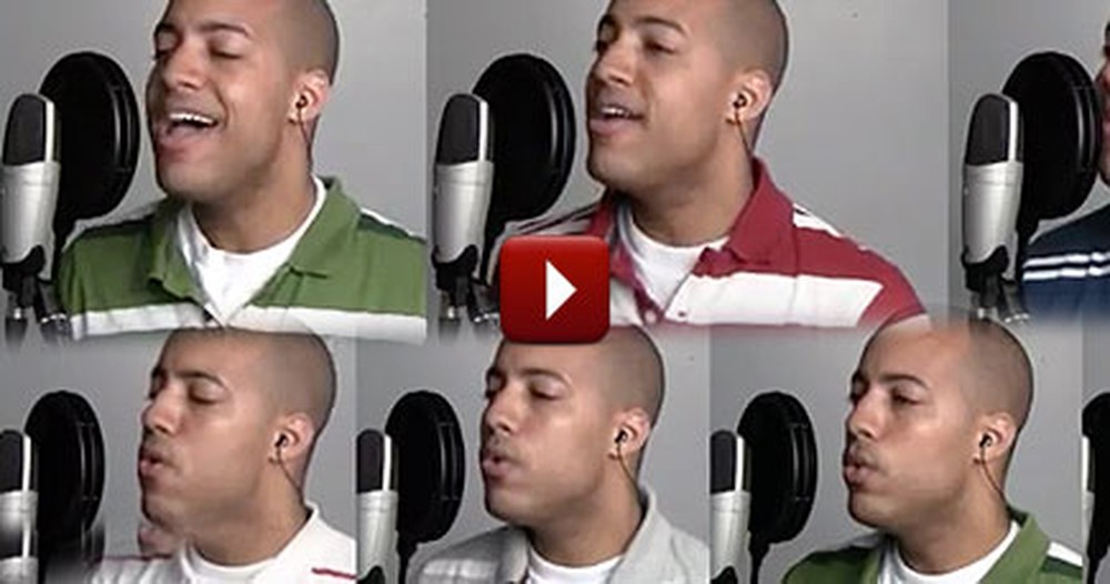 This A Cappella Arrangement of In Christ Alone is Mind-Blowing