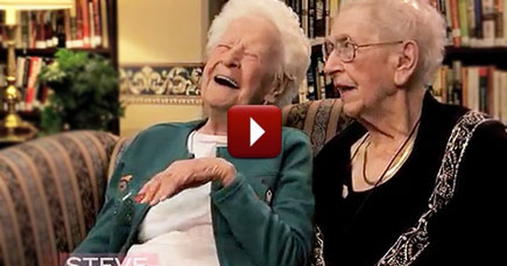 These 100 Year-Old Best Friends Will Fill Your Soul With Joy