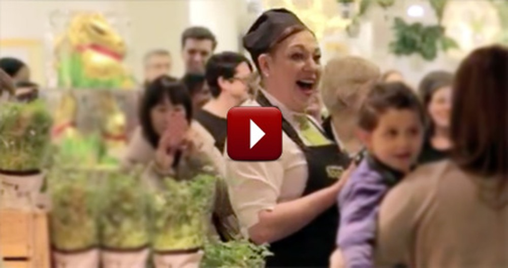 In a Matter of Seconds, a Normal Day at the Supermarket Became Awesome