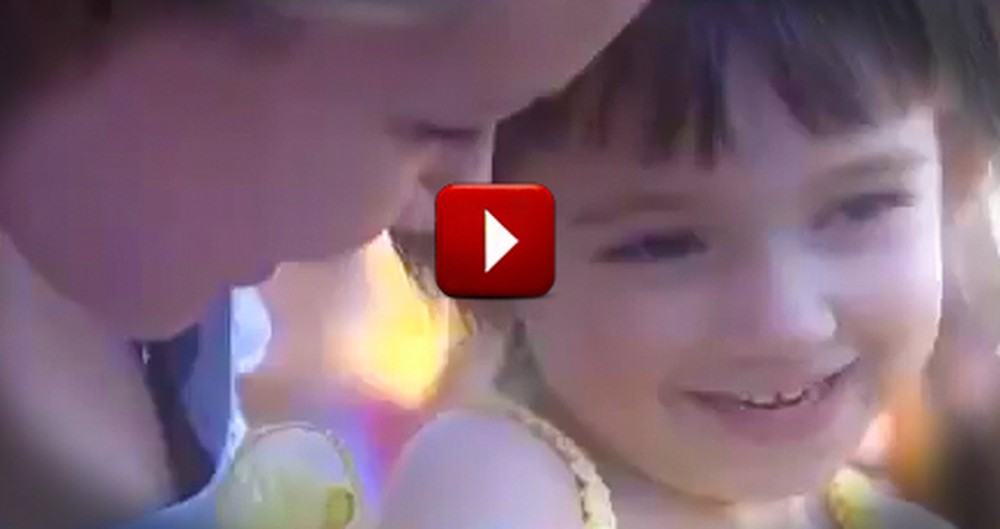 A Tiny Girl With Cancer Receives a Princess Surprise That No One Will Forget