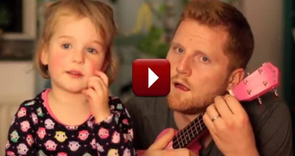 This Daddy-Daughter Sing Along is Possibly the Cutest Duet Ever-  Awwww!