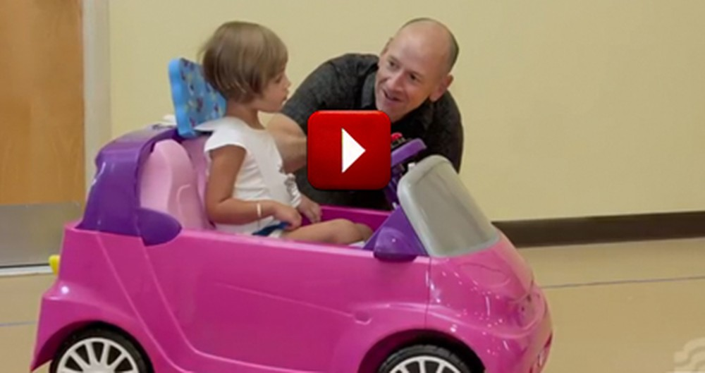 One Man's Trip to a Toy Store Brought Mobility to Hundreds of Disabled Kids