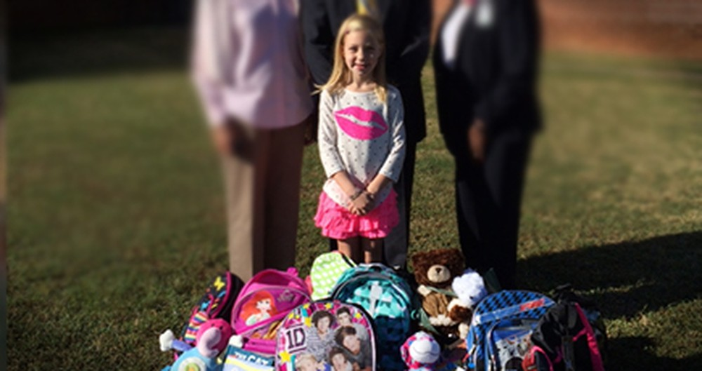 Kind 8-Year-Old Girl Collects Toys for Others on Her Birthday