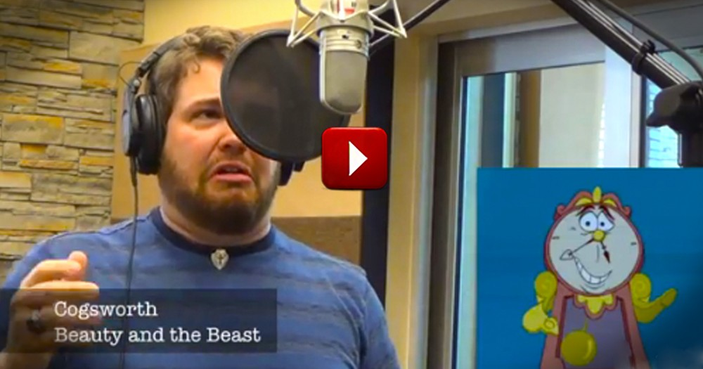 When You Hear This Talented Man's Impressions--You'll Be in Awe!