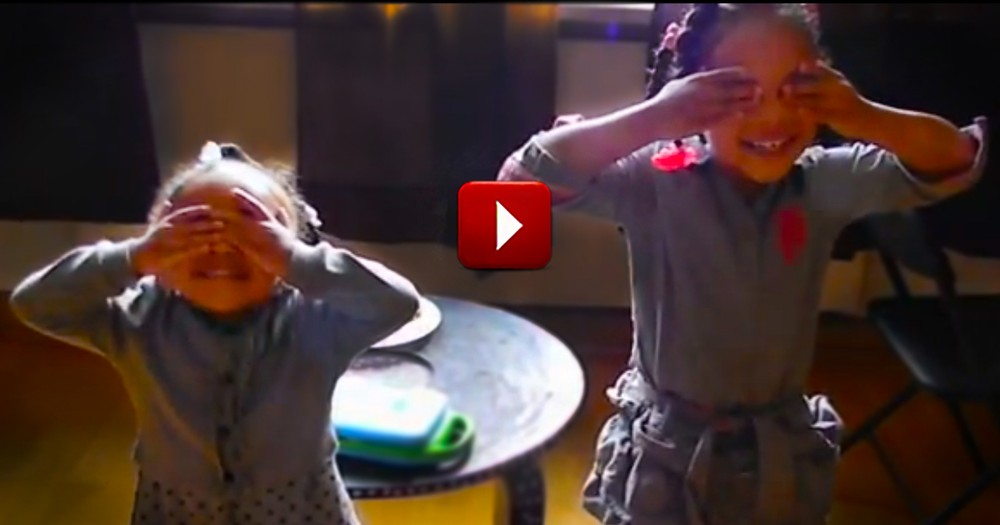 See What Surprises These Sisters -- It'll Melt Your Heart!