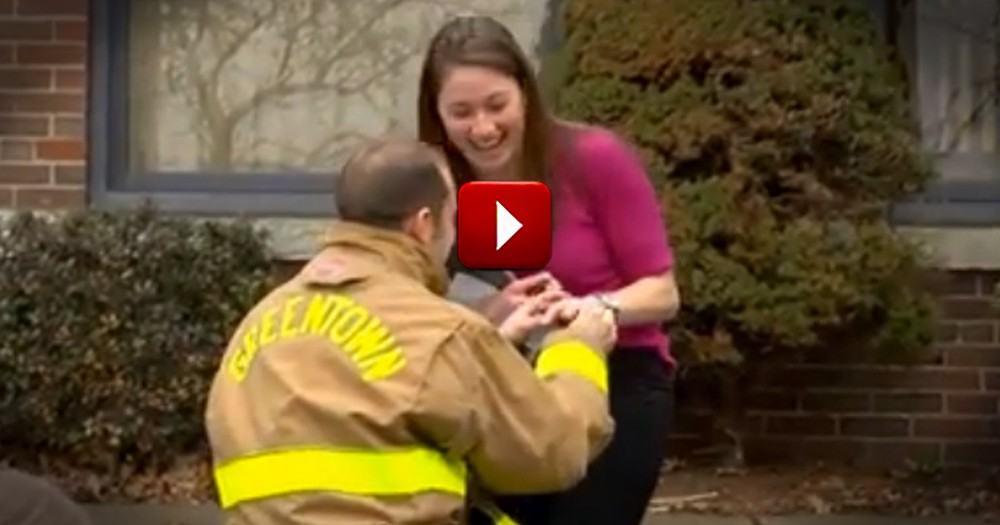 This is Not a Drill -- This Video Will Make You Cry Like There's Smoke in Your Eyes