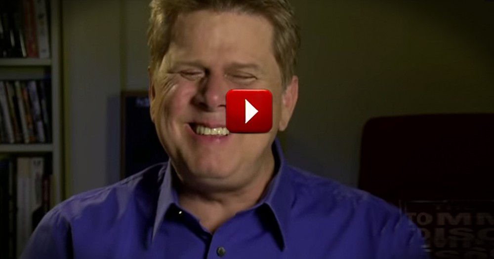 Man Shares Top Reasons He LOVES Being Blind -- The One at 1:22 is My Favorite!
