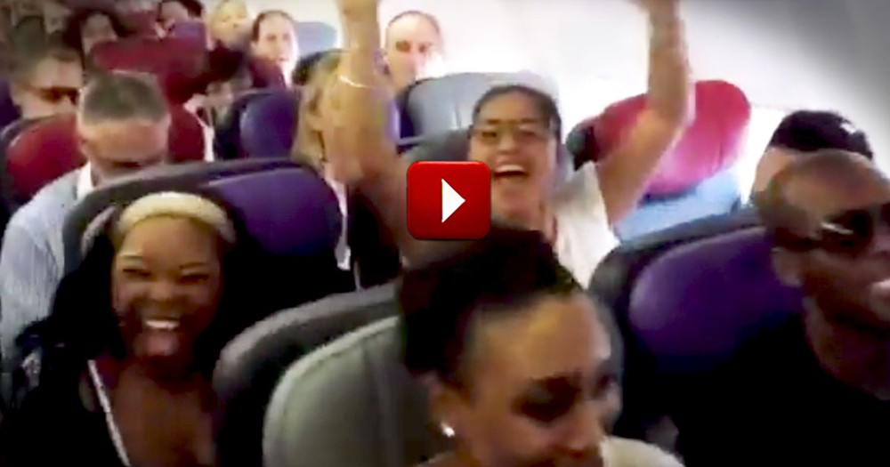 Passengers Get the BEST Surprise Before Take-Off -- Buckle Up for a Front Row Seat!