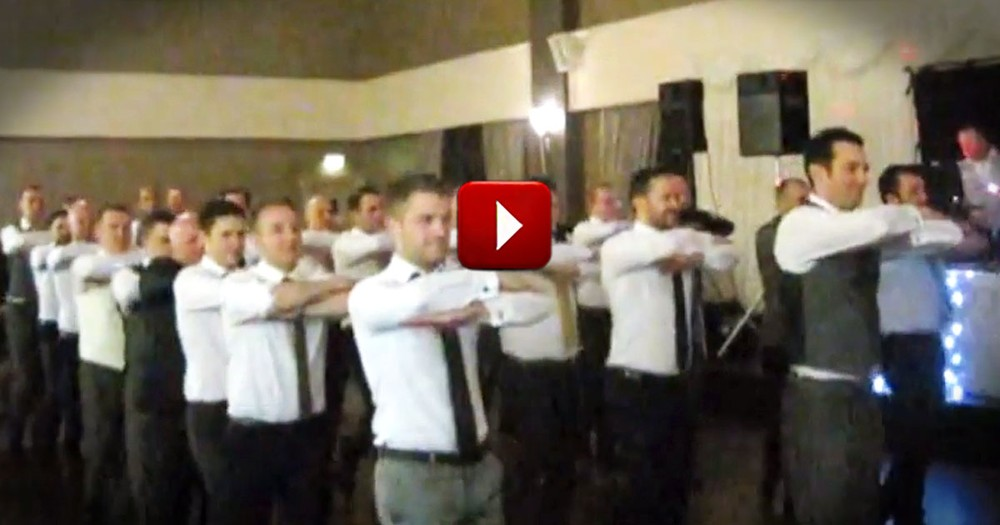 Now HERE'S a Surprise Wedding Dance We Haven't Seen Before. I Already Want to See it Again!