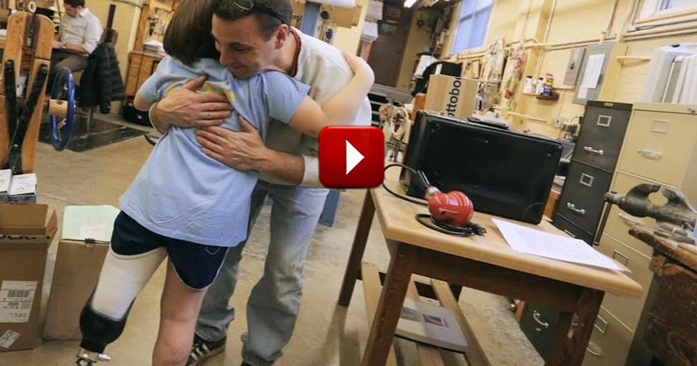 An 8 Year Old Girl Lost Her Leg In the Boston Marathon Bombing. But She is Dancing into Recovery.