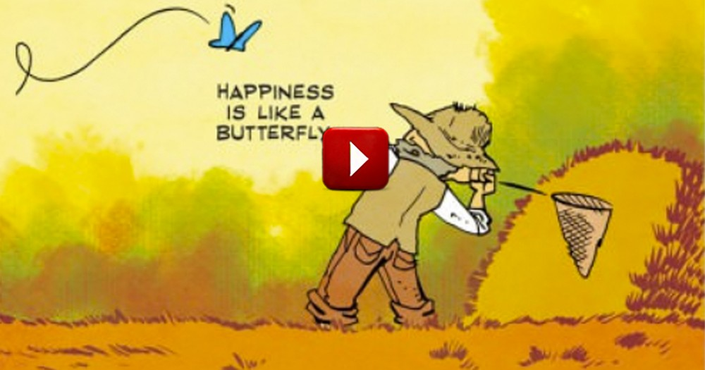 This Simple Cartoon Will Help You to Achieve Happiness!