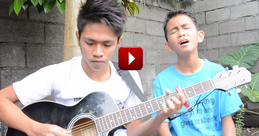 When These 2 Cousins Sing, I Just Feel Peace.  They Are So Talented!