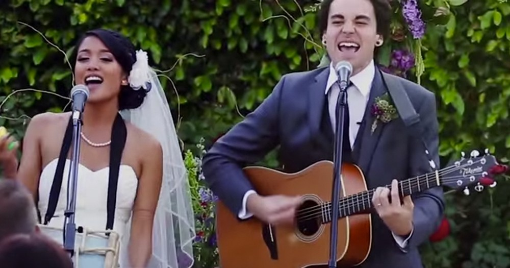How This Couple Shared Their Wedding Vows Surprised Everyone. But Wow Was It Incredible!