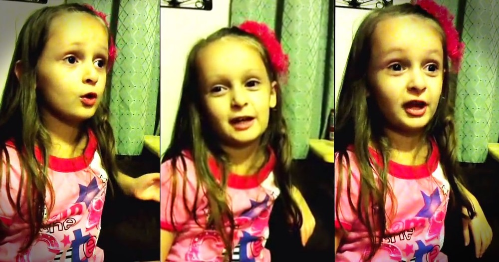 This 5-Year-Old Has a Message from God For You. Hear What He Laid On Her Heart!