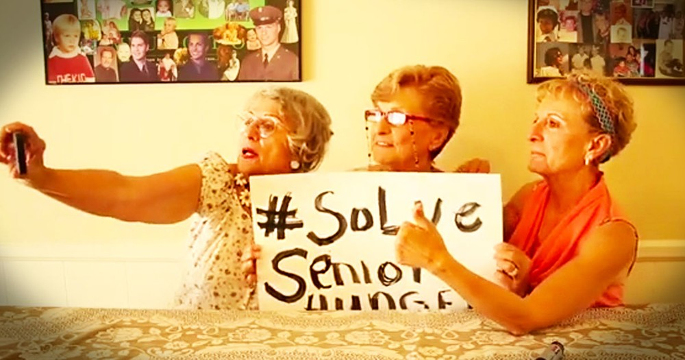 Wait Until You See What These 3 Hilarious Grannies Are Up To. This Selfie Had Me LOL!