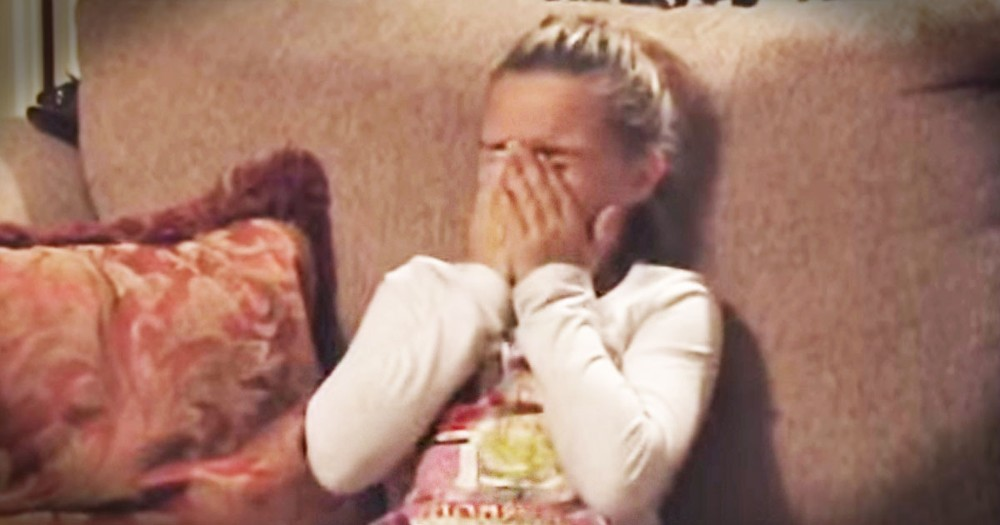 This Girl Was So Shocked She Couldn't Move or Speak.  At :47 Find Out Why!  Awww!