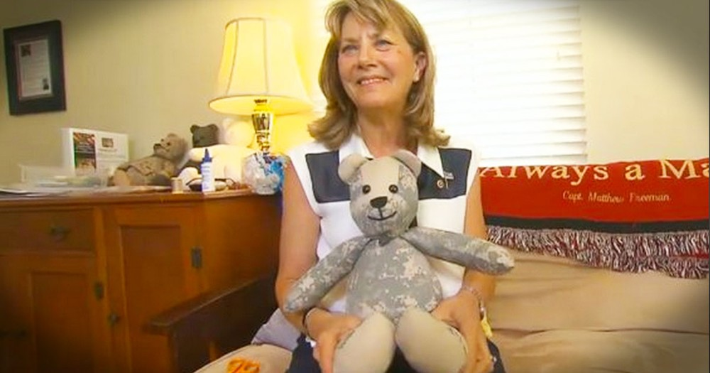 How This Teddy Bear Was Made Is Heartbreaking. I've Never Seen Something So Touching!