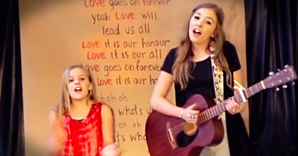 When You Hear These Sisters Sing, You'll Think You're Hearing Angels. This Is The Sweetest Love Song