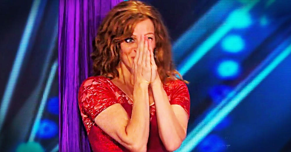 This Mom's Performance Was Beautiful. But What She Says at 1:48 Even Made The Judges' Jaws Drop.