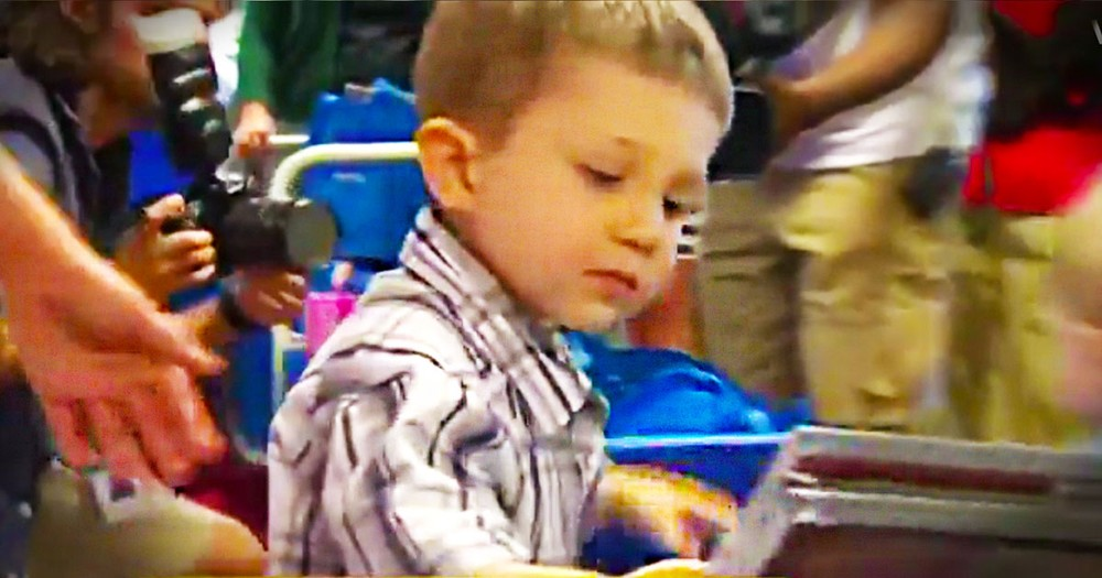 You Would Never Imagine What This 4 Year Old Cancer Patient Did With His One Wish. I'm In Tears!