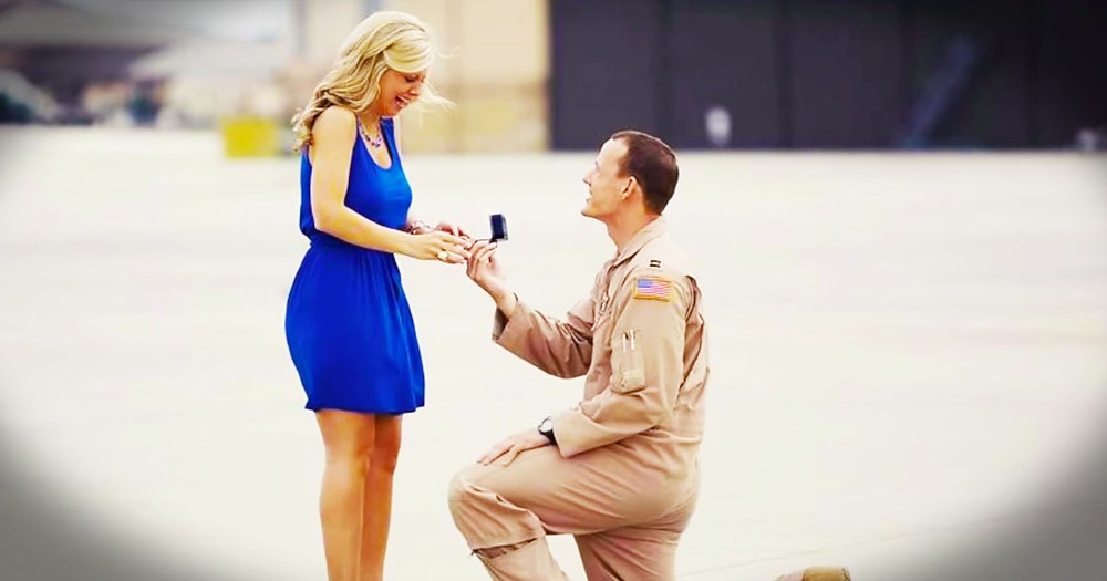 It Started With A Reunion And Ended With Me In Tears. Grab The Tissues For This Military Tribute!