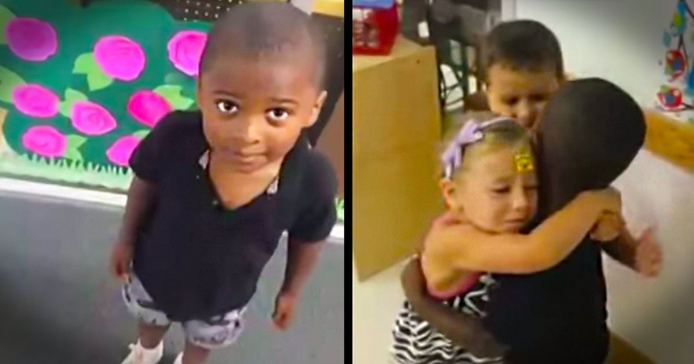 What Happened When This 5-Year-Old Opened The Door Is Amazing! Cutest. Reaction. EVER!