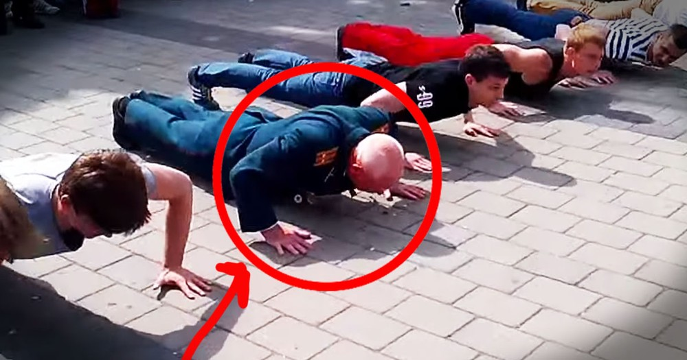 What This 77 Year Old Veteran Just Did Stunned Everyone! Age Is Clearly Just A Number.