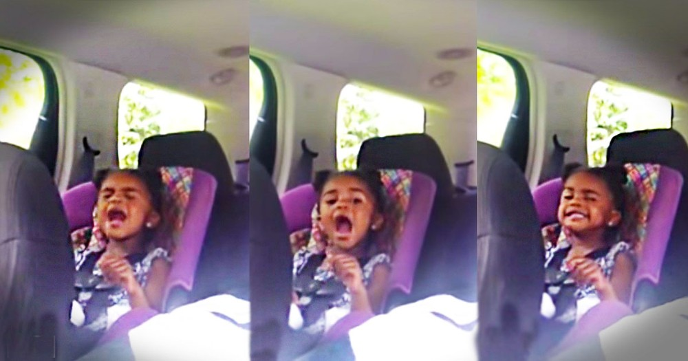 Only 16 Seconds In You'll Know This 3-Year-Old Doesn't Just 'Sing'. She Sings for JESUS!