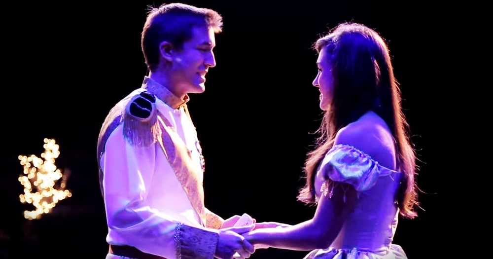 This Woman Played Cinderella Onstage. But Now, She's The Star In A REAL-LIFE Fairy Tale!