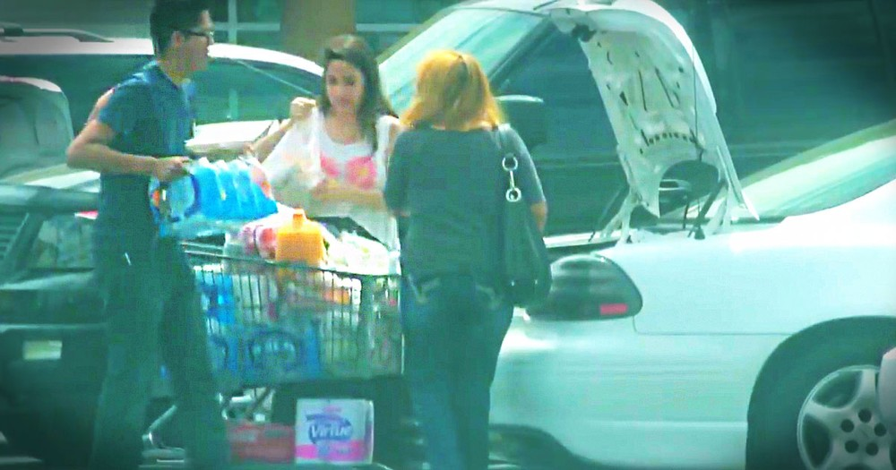 This Guy Just Spent His Birthday In A Grocery Store Parking Lot. Why You See Why You'll Be Amazed!
