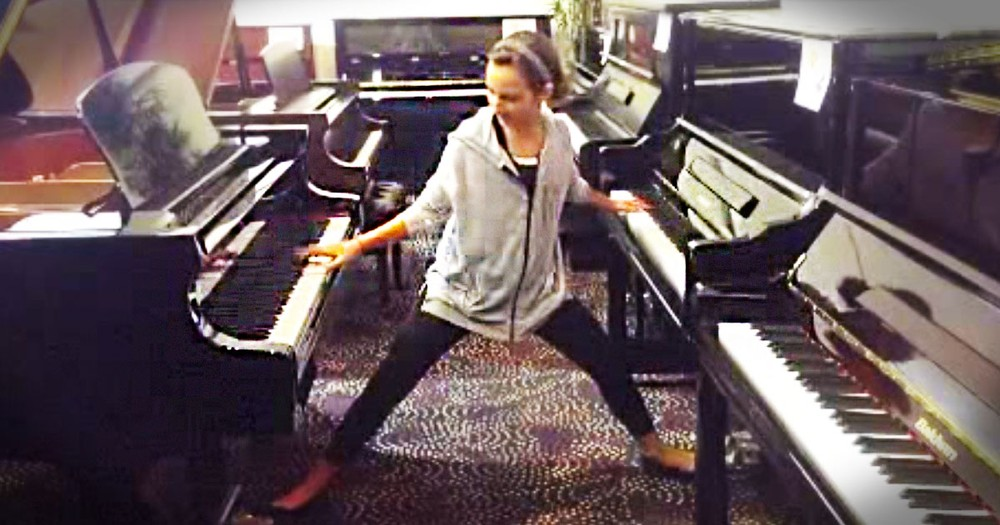 Most People Can't Play 1 Piano This Well. But What This 12-Year-Old Can Do With 2 Pianos? Whoa!