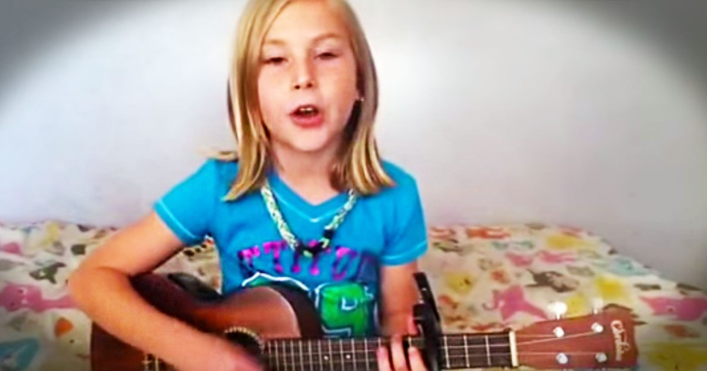 I Just Can't Get Over This Talented Little Girl's Amazing Voice. And She's Singing To JESUS - Wow!