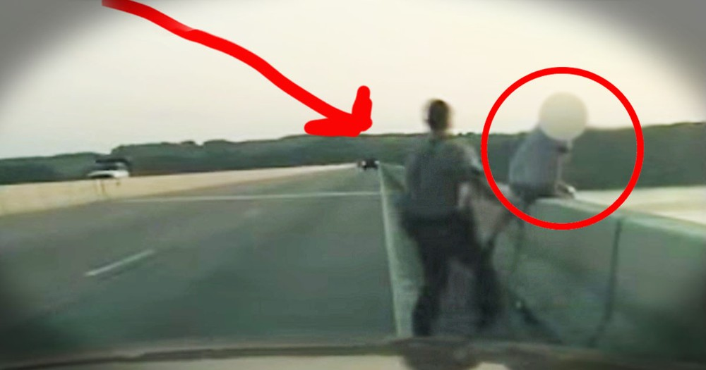 This Man Tried To End His Life. But God Sent Him A Hero Just In The Nick Of Time - WHOA!