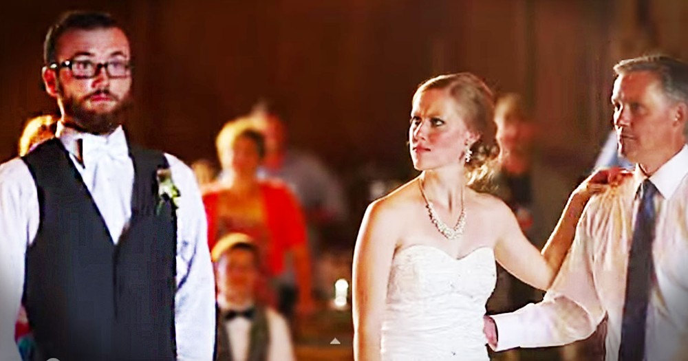 25 Seconds In This Wedding Dance Went From 'Aww' To AWESOME! And You Don't Want To Miss It.