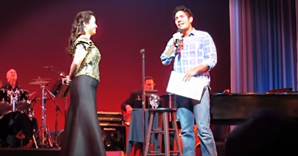 This Broadway Star Pulled A Fan On Stage. But No One Ever Saw THIS Coming -- Whoa!